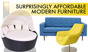 Affordable Modern Sofas 14 Surprisingly Affordable Pieces Of Modern Furniture That Won T