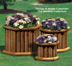 landscape timber planter woodworking patterns pinterest