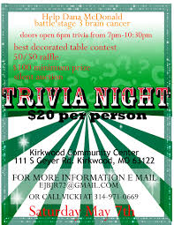 free trivia night flyer template professional samples templates