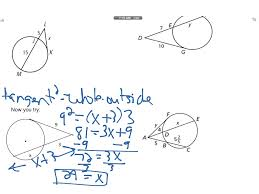 Segment Lengths In Circles Worksheet Answers Showme Segment Relationships In Circles