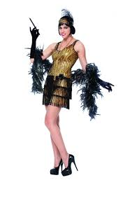 broadway flapper gold