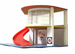 fifties vintage toy garage