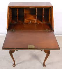 antique ladies writing desk antique ladies writing desk queen anne style walnut within ideas 4