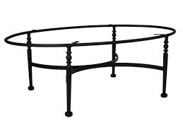oval wrought iron coffee table rascalartsnyc