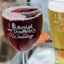 i survived my s wedding i survived my daughters wedding wine glass pilsner set