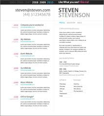 Resume Template Microsoft Word 2003 It Resume Template Word Smartcv Is A Clean Resume That Was