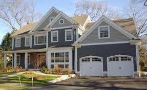elegant exterior house paint schemes with brown roof modern black and white nuance the exterior house paint schemes with brown roof that can design