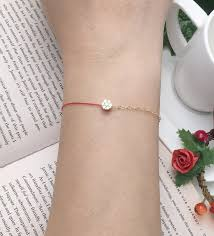 rope bracelet designs images Le bonheur happy line line gold diamond seven small half line half jpg
