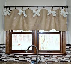 window valances ideas burlap valance 16 unique diy patterns guide patterns