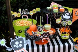 Mason Jar Halloween Lantern Halloween Monster Mash Party Creative Juice