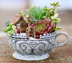 14 cute teacup mini gardens ideas fairy gardens and garden ideas