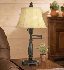 Arm Lamps Bronze Finish Swing Arm Lamp By Regency Hill Amazon Com
