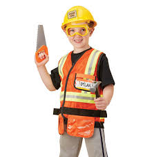 construction worker costume construction worker play costume set doug
