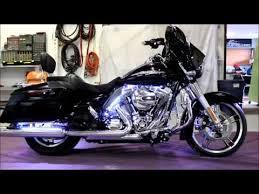 white led motorcycle light kit fusion 21 led light kit installed on 2014 harley street glide youtube