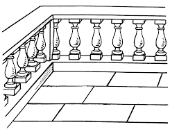 What Is A Banister On Stairs Baluster Wikipedia