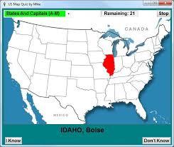 us map capitals dink software us map quiz 2 0