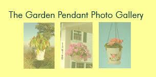 Decorative Indoor Planters Garden Pendant Collection