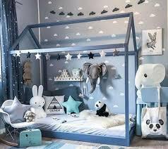 chambre bébé garçon bleu et gris chambre bébé idée comment aménager une chambre montessori pour bébé
