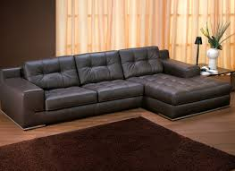 chaise lounge blackjack simmons brown leather sectional sofa