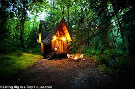 this enchanting cabin in the forest will leave you breathless