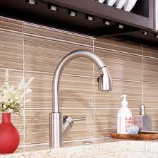 Glass Tile Backsplash Ideas Elegant Look Modern White Glass - Linear tile backsplash