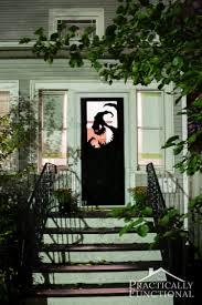 58 scary door decoration ideas halloween graveyard decorations