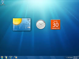 gadget de bureau windows 8 look at windows 7 s user interface ars technica