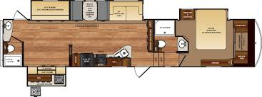 Forest River Travel Trailers Floor Plans Wildcat Fifth Wheels Floorplans By Forest River Rv Colonia Del