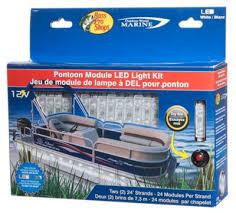 pontoon boat led light kits bass pro shops outdoor world marine led pontoon module boat light