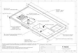 plan de travail cuisine sur mesure plan de travail inox sur mesure enchanteur plan de travail
