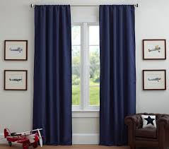 216 Inch Curtains Sailcloth Blackout Panel Pottery Barn Kids