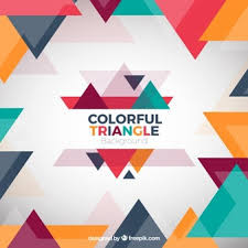 triangle pattern freepik colorful triangles background vectors photos and psd files free