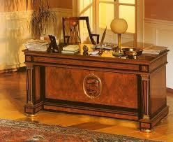 scrivania stile impero scrivania in stile classico in frassino olivato idfdesign