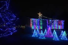 christmas light display synchronized to music electric avenues local christmas lights shine bright ephrata review