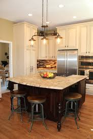 newly remodeled kitchen island and barstools hg design iteriors