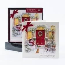 personalized boxed christmas cards custom of your front door original sketch personalized