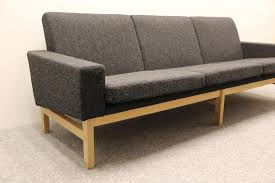 Hans Wegner Plank Sofa Wegner Sofa Leather Sectional Sofa