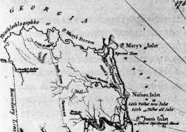 Alligators In Georgia Map Nassau County Florida History West Nassau Historical Society