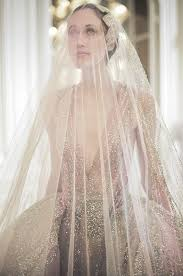 light pink wedding veil fashionsprose details at elie saab couture s s 2015 http its