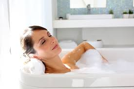 How To Get Soap Scum Off Bathtub How To Deep Clean A Bathroom Naturally Bubbly