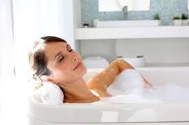 How To Scrub Bathtub How To Deep Clean A Bathroom Naturally Bubbly