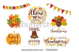 happy thanksgiving day card turkey stock vector 705648793