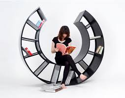 Bookshelf Chair The Motion Bookshelf Rocking Chair By Hyunjin Seo Inhabitat