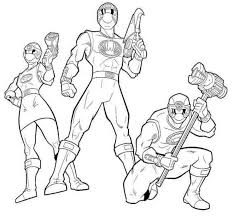 power rangers ninja storm coloring pages free super heroes