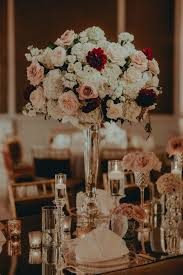 Pink And Gold Centerpieces by Best 25 Burgundy Floral Centerpieces Ideas On Pinterest Maroon