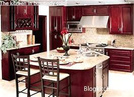 kitchen design and color the kitchen in burgundy color rules of designing and planning