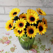 Sunflower Wedding Decorations Compare Prices On Head Table Decoration Online Shopping Buy Low