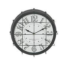 themed clock deco 79 antique themed metal wall clock don t get