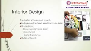 Interior Decoration Courses Fees Best Interior Design Institute In Kolkata Sritech Academy Youtube