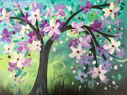 in bloom u201d paint night for teen u0026 hosted by lucy the